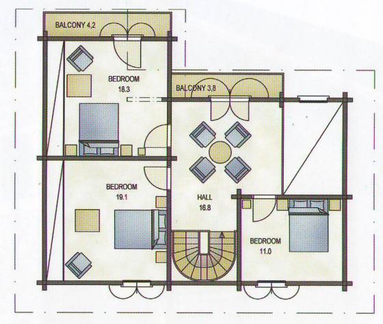 Проект дома pyha 175