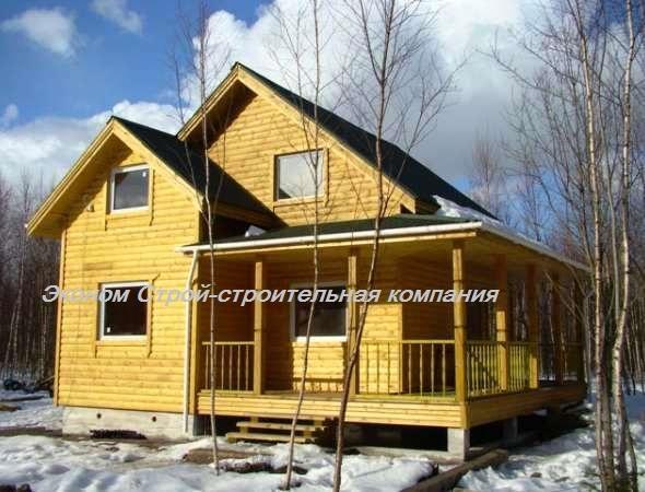 Каркасный дом построен под ключ. В нашей фирме вы можете заказать строительство загородного дома по каркасной технологии