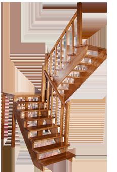 Расчет лестницы на второй этаж с поворотом на 180 своими руками фото 159