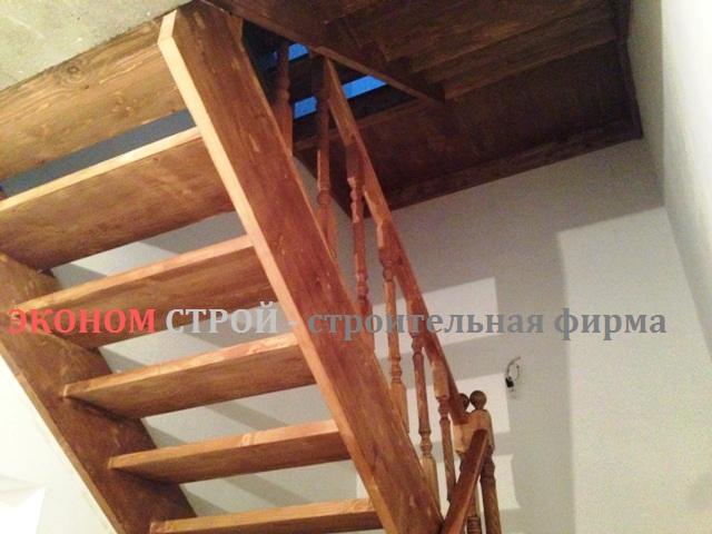 Изготовление тетивы деревянной лестницы 4