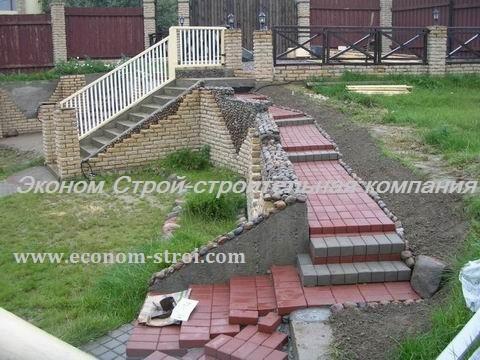 Стоимость подпорной стенки из бетона