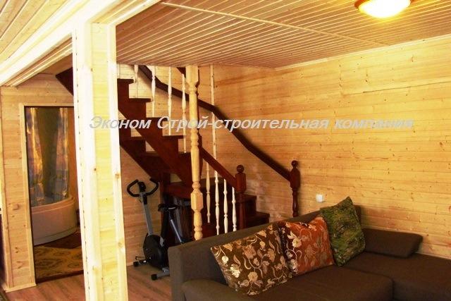 интерьер внутри каркасного дома фото