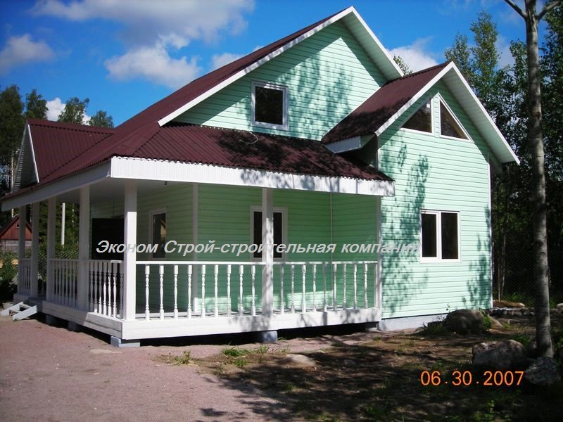Каркасный дом строительство под ключ